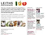 Leiths School of Food and Wine - University